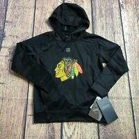 NHL Kids Size Large -7 Chicago Blackhawks Long Sleeve Logo Pullover Hoodie New