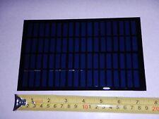 18 volt x 138 mA. Mini Solar Panel epoxy encapsulated virtually indestructible