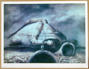 DUNE Print by HR Giger Signed limited edition Archival paper. (Two Prints)