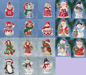 JIM SHORE By Mill Hill WINTER SERIES Counted Cross Stitch Kits 2016, 2019