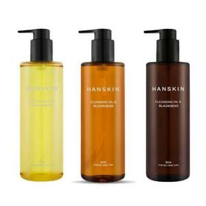 HANSKIN Cleansing Oil & Blackhead 300mL - 3 Types