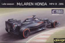 Ebbro Formel 1 McLaren Honda MP4-31 Late Season 2016 Kit 1:20 Bausatz 020-4800