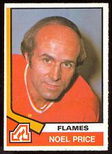 1974-75 OPC O PEE CHEE HOCKEY #356 NOEL PRICE NM ATLANTA FLAMES CARD