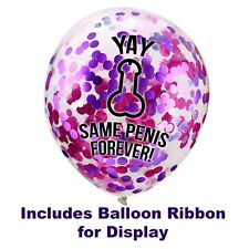 Same Penis Forever Balloons, Hens Night Accessories Decorations, Willy Balloons