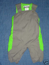 COLUMBIA SPORTSWEAR Baby Boy Girl 6 M Overall Bib Snow Ski Pants Snowsuit Fleece