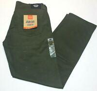 Men's Dockers Olive Green Jean Cut Straight Fit All Seasons Tech Pants
