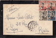 Vietnam Cover/Letter Hanoi 1922 >> France