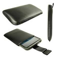 caseroxx Pouch for HTC Desire HD in black made of faux leather