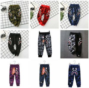 2020 Kids Boy Girl Classic Space Monkey Animal Long Legging Pants More Style