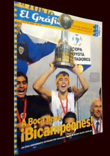 BOCA JUNIORS Libertadores 2001 Champion vs CRUZ AZUL - SPECIAL Magazine