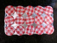 15 Small Empty 30g Bonne Maman Glass Jam Jars - Marmalade Spices Preserves