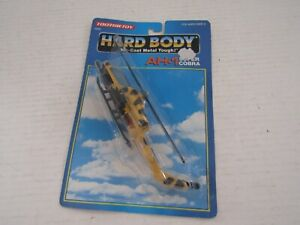 TOOTSIETOY 1992 DIECAST METAL HARD BODY MILITARY HELICOPTER AH-1 SUPER COBRA