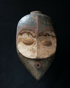 Bembe Face Mask, D.R. Congo, Zambia, Central African Tribal Art