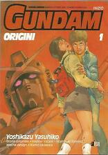 Manga - GUNDAM ORIGINI 1 - Yoshikazu Yasuhiko - STAR COMICS - NUOVO - D3