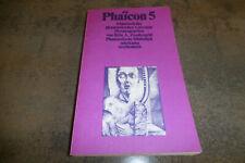 PHAICON # 5 -- Almanach // Phantastische Bibliothek # 86  in 1. Auflage 1982