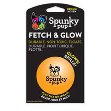 American Dog Toys Medium Fetch & Glow Ball Glows in the Dark! Soft, Safe & Fun