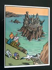 Carte postale Tintin Sterin