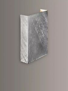 Nordlux Galvanised Fold LED Indoor / Outdoor Wall Light B+