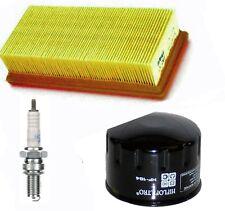 GILERA Nexus 500 04 -14 Luftfilter Ölfilter Zündkerze Wartungskit Inspektionsset