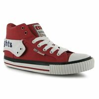 British Knights Kids Roco Fold Junior Boys Hi-Tops Lace Up Sport Casual Shoes