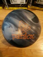 Track Paradox Black X-out/2nd Bowling Ball | 15 Pounds | Heavy Top Weight