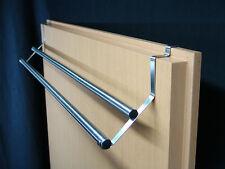 NiroTec Edelstahldesign Edelstahl Tür Handtuchstange Inside Silver 65-2