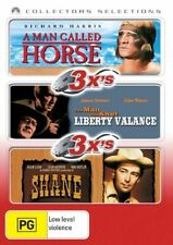 A Man Called Horse / Man Who Shot Liberty Valance, The / Shane (DVD, 2007, 3-Disc Set)