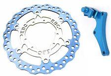 EBC Oversize Front Brake Rotor + Caliper Bracket 2008-2014 Yamaha YZ125 YZ250