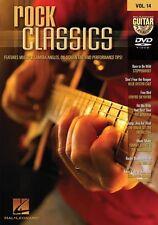 Guitar Play-Along Rock Classics Learn to Play Pat Benetar Joe Walsh Music DVD
