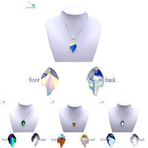 Leaf Shape Pendants - Genuine EIMASS® Crystal Pendants - Swarovski Alternative