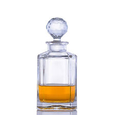 Crystal Whiskey Liquor Decanter by Crystalize