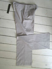 Cotton Tailored Regular 32L Trousers for Women