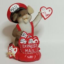 Charming Tails Expressing My Love For You Enesco Valentines Express Mail Mouse