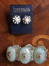 New in Package Francesca's Collections Floral Earrings and Bracelet