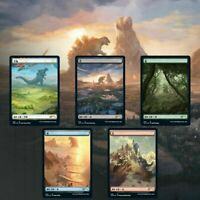 MTG Secret Lair Godzilla Lands Presale Lands Only NM/M Foil