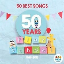 Play School 50 Best Songs 50 Years (CD, 2016) ABC Kids Music NEW & SEALED