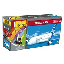 "Heller 1/800 Airbus A380 ""Premier Vol"" Gift Set # 49075"