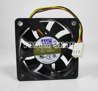 1pc AVC DA06015B05L Cooling fan 5V 0.20A 1.0(W) 3pin 60*60*15mm  #XX