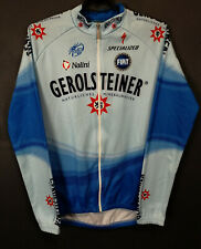RARE GEROLSTEINER NALINI ITALY LONG SLEEVE CYCLING BICYCLE JERSEY SHIRT SIZE L 4