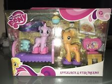 My Little Pony G4 Star Dreams Applejack Sleepover Playset Nrfb Rare Htf