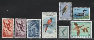 Birds Selection of Foreign Stamps  (mm)