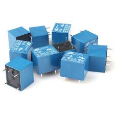 12V DC 10PCS  5Pins RELAY  Coil Power Relay PCB SRD-12VDC-SL-C LZ LI