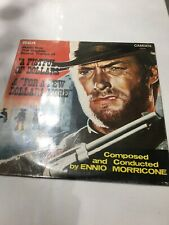 The original soundtrack of A fistfull of Dollars and For a few Dollars More Lp