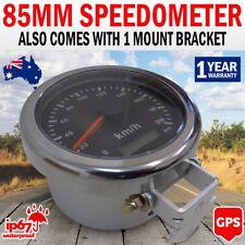 NEW 85mm Car Motor GPS Antenna Speedometer Gauge Stainless Digital Mount Bracket