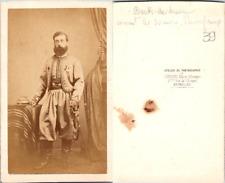Géruzet, Bruxelles, Becdelièvre, Commandant les Zouaves Pontificaux, circa 1860