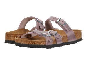Women's Shoes Birkenstock FRANCA Oiled Leather Sandals 1020014 LAVENDER BLUSH