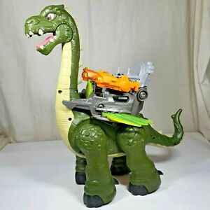 Imaginext Mega Apatosaurus Interactive Dinosaur Figure Playset Fisher-Price 2013