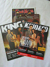 Twilight Breaking Dawn Part 1 Burger King,Kino&Co,Cinestar+McDonalds Magazines