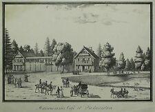 KATHARINENHOF (SANKT PETERSBURG) - Russisches Haus - Pluchart - Lithografie 1824