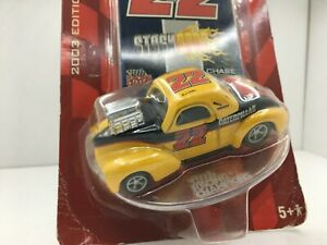 Racing Champs *Stock Rods * 1941 Willys Coupe * CATERPILLAR* 1:64